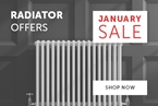 January Sale Radiators