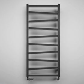 Anthracite & Black Heated Towel Rails
