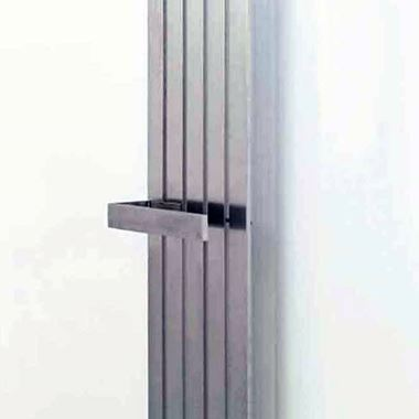 Aeon Lunar Clip-on Towel Bar - Brushed - 40 x 340mm