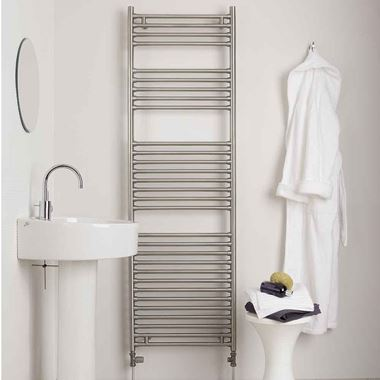 Aeon Seren Vertical Designer Heated Towel Rail Radiator