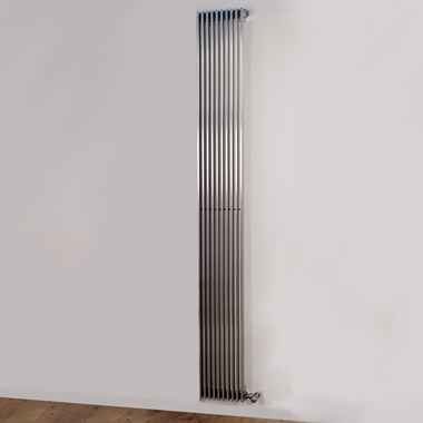 Aeon Venetian Stainless Steel Vertical or Horizontal Designer Radiator - Brushed