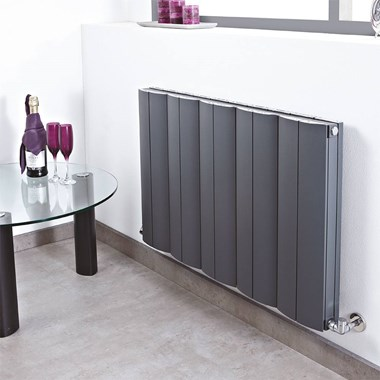Phoenix Apollo Pre Filled Electric Aluminium Radiator - 600mm