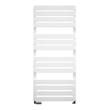 Crosswater Celeste Designer Heated Towel Rail - Soft White Matte - 1100x500