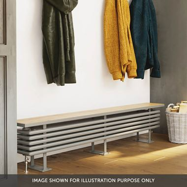 DQ Heating Radiator Bench Mild Steel Horizontal Radiator Bench