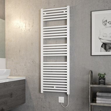 Brenton Hestia Electric Straight Heated Towel Rail