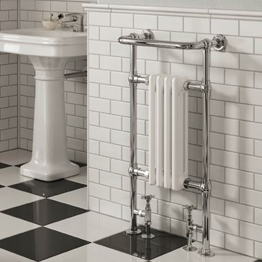 Butler & Rose Elizabeth Bathroom Traditional Heated Towel Rail Radiator - 952 x 479mm