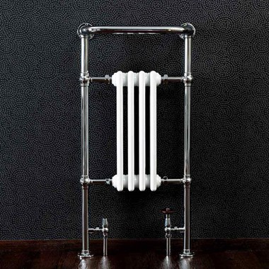 Butler & Rose Elizabeth Bathroom Traditional Heated Towel Rail Radiator - 965 x 495mm