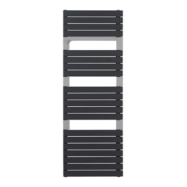 Crosswater Levante Heated Towel Rail - 1360 x 550mm Anthracite