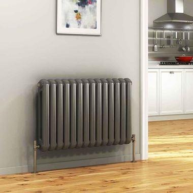 DQ Heating Cassius Column Style Mild Steel Horizontal Designer Radiator