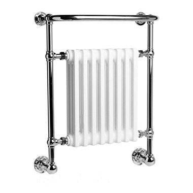 DQ Heating Croxton Wall Mounted Luxury Traditional Heated Towel Rail