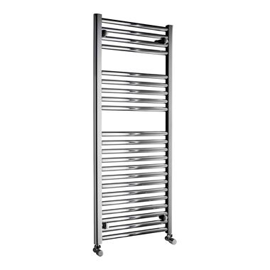 DQ Heating Metro Vertical Heated Towel Rail - Polished Chrome