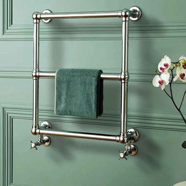 DQ Heating Hockwold Wall Mounted Luxury Traditional Heated Towel Rail