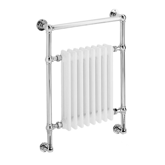 DQ Heating Lynford Wall Mounted Luxury Traditional Heated Towel Rail