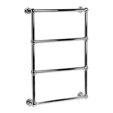 DQ Heating Methwold Wall Mounted Luxury Traditional Heated Towel Rail