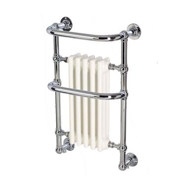 DQ Heating Old Buckenham Wall Mounted Luxury Traditional Heated Towel Rail