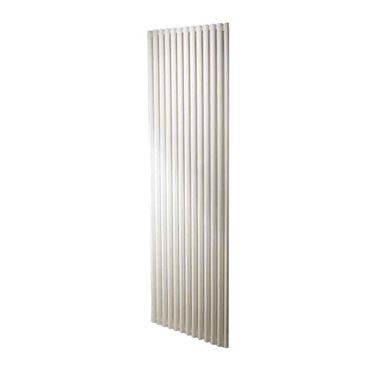 DQ Heating Vulcano Single Panel Mild Steel Vertical Designer Radiator