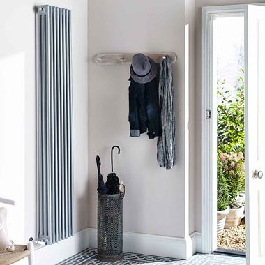 Hudson Reed Colosseum Triple Column Vertical Radiator - 1800 x 381mm