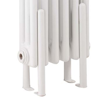Hudson Reed Colosseum White Floor Mounting Legs