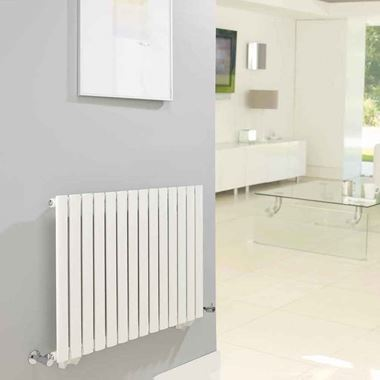 Hudson Reed Revive Horizontal Designer Radiator - 633 x 826mm