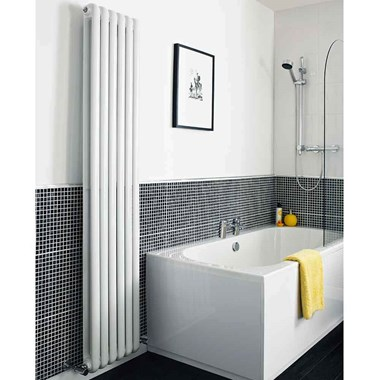 Hudson Reed Salvia Double Panel Vertical Radiator