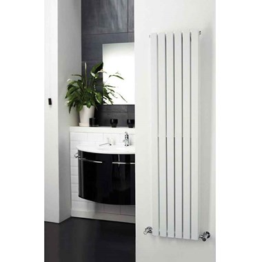 Hudson Reed Sloane Double Panel Vertical Designer Radiator