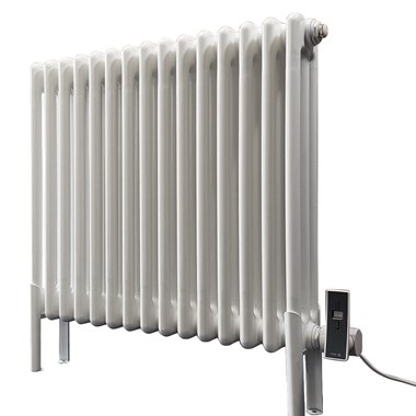 DQ Heating Peta Electric Mild Steel Horizontal Column Designer Radiator