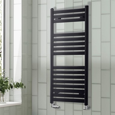 Phoenix Ascot Designer Heated Towel Rail - 1200x500mm