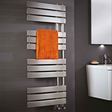 Phoenix Carla Bathroom Electric Designer Heated Towel Rail Radiator