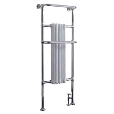 Phoenix Ella Bathroom Traditional Style Heated Towel Rail Radiator - 1500x590mm