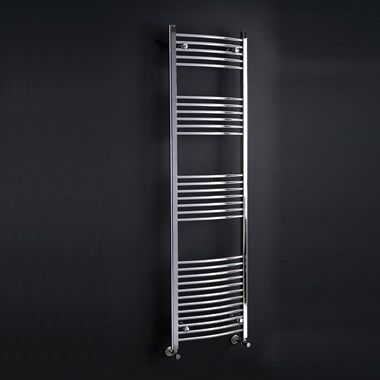 Phoenix Gina Bathroom Curved Heated Towel Rail Radiator