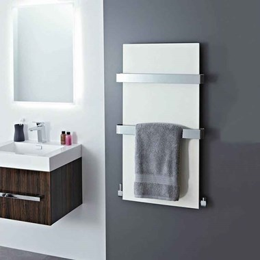 Phoenix Icon Bathroom Designer Panel Heated Towel Rail Radiator - 907x508mm