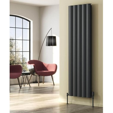 Reina Belva Single Panel Vertical Designer Radiator