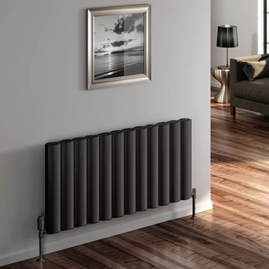 Reina Belva Double Panel Horizontal Designer Radiator