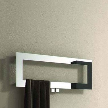 Reina Bivano Bathroom Designer Heated Towel Rail Rack Radiator - 300 x 800mm