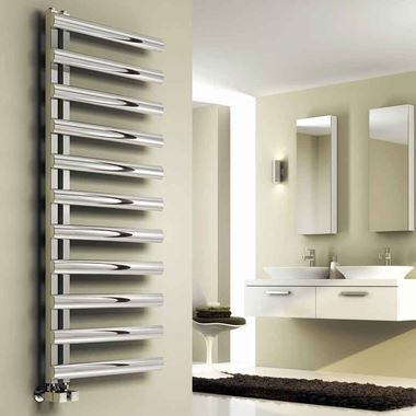 Reina Cavo Stainless Steel Bathroom Heated Towel Rail Radiator