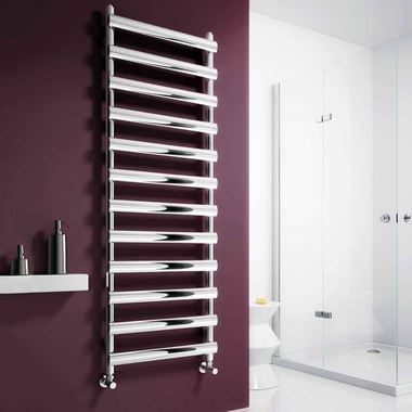 Reina Deno Stainless Steel Bathroom Heated Towel Rail Radiator