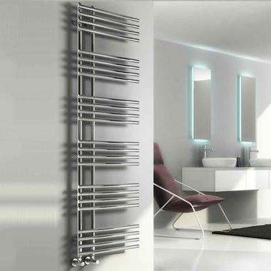 Reina Elisa Designer Steel Heated Towel Rail