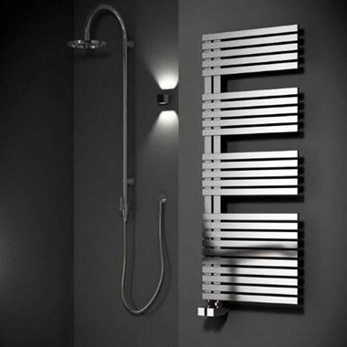 Reina Entice Stainless Steel Heated Towel Rail - Satin