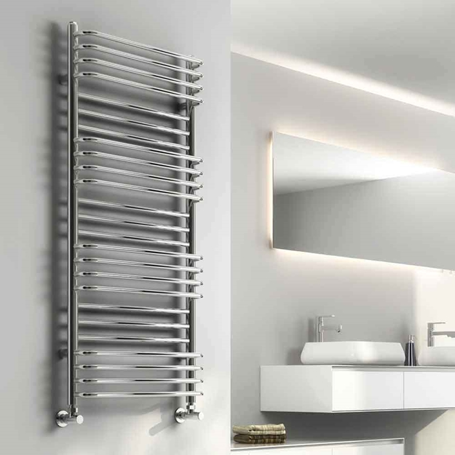 Reina Marco Designer Steel Heated Towel Rail