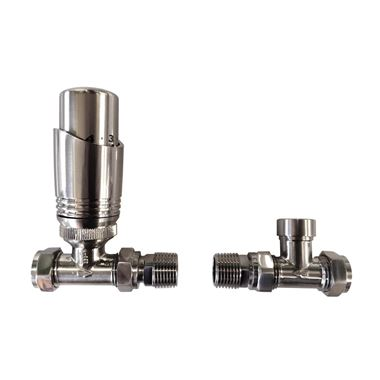 Reina Modal TRV Thermostatic Straight Radiator Valve