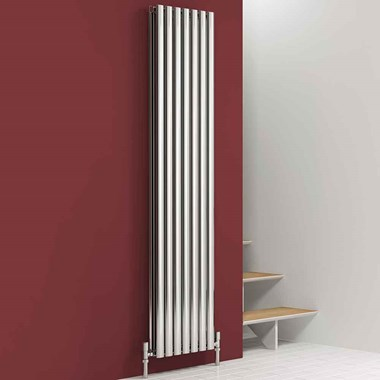 Reina Nerox Double Panel Vertical Designer Stainless Steel Radiator