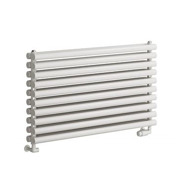 Reina Nevah Horizontal Single Panel Designer Radiator - White - 295 x 1400mm
