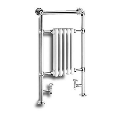 Reina Oxford Chrome Traditional Designer Radiator - H960 x W538mm