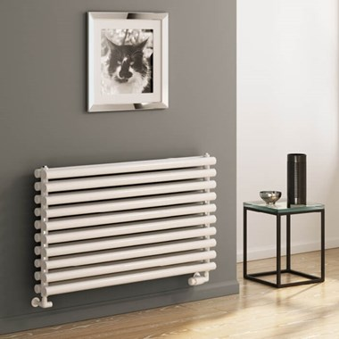 Reina Roda Horizontal Panel Designer Radiator - White