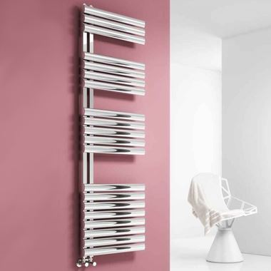 Reina Scalo Stainless Steel Heated Towel Rail