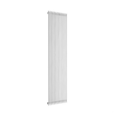 Reina Tubes White Vertical Designer Steel Radiator - Single Panel - 1800x350
