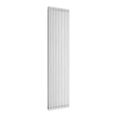 Reina Tubes White Vertical Designer Steel Radiator - Double Panel - 1800x350
