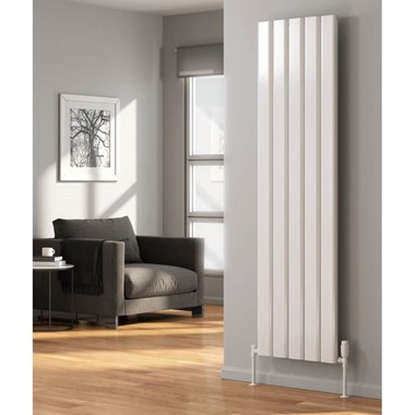 Reina Vicari Aluminium Single Panel Vertical Designer Radiator
