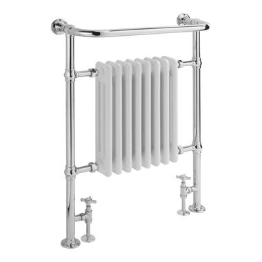 Sagittarius Harrow Traditional Heated Column Towel Rail - 945 x 640mm