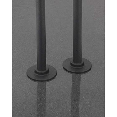 Sagittarius Pair of 15mm Cover Plates & 180mm Pipes - Anthracite